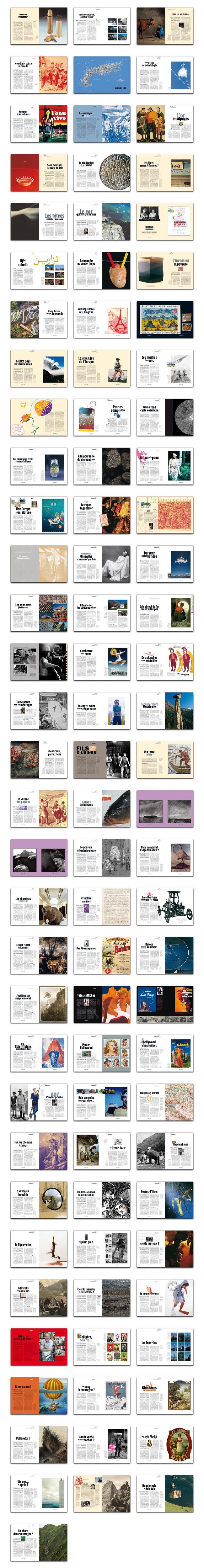 Un florilège des plus belles pages de la revue L'Alpe