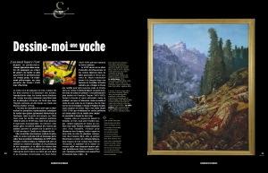 L'Alpe 48 Portfolio la vache dans l'art
