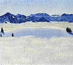 Au col du Jaun, huile sur toile de Emil Cardinaux, 1906. Collection privée.