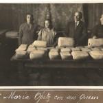Producteurs de fromage à Punta Arenas au début du XXe siècle. Photo : Museo del Recuerdo, Punta Arenas.