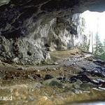La grotte de la Luire, à Saint-Agnan-en-Vercors, servit d'hôpital au maquis. Photo : Y. Lurand.