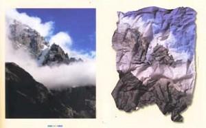 Création Hervé Frumy pour L'Alpe.