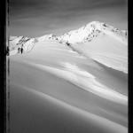 Randonnée de ski-alpinisme au mont Rogneux, 3 084 mètres. Photo : Jean-Claude Roh