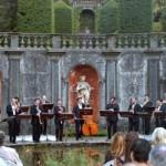 L'ensemble Zefiro en concert à la villa San Remigio, Verbania.